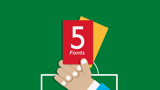 5 Fonts Your Company Should Show The Red Card To - MeeCreative